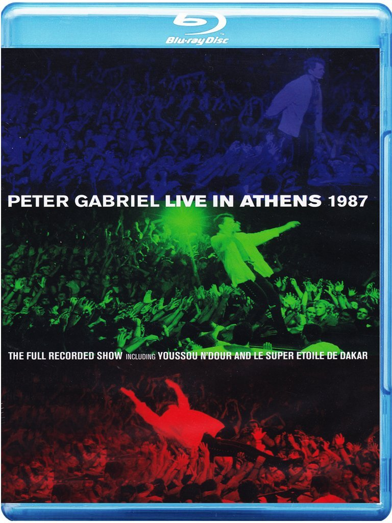 Peter Gabriel > Live In Athens 1987